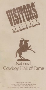 1992 Visitors Guide from my mission visit