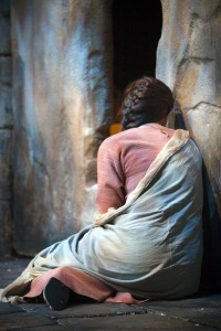 "Mary at the Tomb - Image from the LDS production ""Savior of the World"""