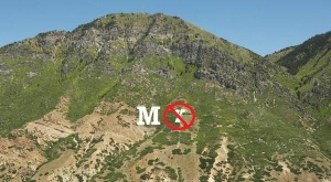 "Possible look of ""M"" Mountain in Provo"