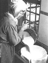 19th Century Cheese making