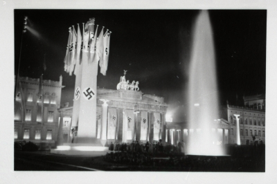 Brandenburg Gate  as photo by an LDS Missionary