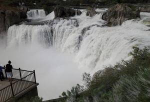 Shoshone Falls at high water, 2011