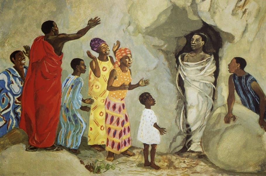 JESUS MAFA Jesus Raises Lazarus